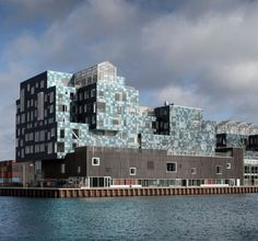 This weeks theme is Photovoltaics and our #ProjectOfTheDay is a prime exemplar in the category/ C.F. Møller Architects Copenhagen International School Nordhavn features a facade of 12000 sequin-like solar panels which supply more than half of the schools annual electricity consumption/ Share your favorite projects with hashtag #ArchitizerDetails/ Photo by Adam Mørk - Architecture and Home Decor - Bedroom - Bathroom - Kitchen And Living Room Interior Design Decorating Ideas - #architecture…