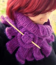 Going to make this into a crochet pattern...and make it for myself  Dragon Scarf by Vilman, via Flickr
