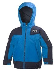 Helly Hansen Kids Velocity Jacket - Racer Blue The Helly Hansen Kids Velocity Jacket is fully insulated with PrimaLoft insulation for a snug feel throughout the day, while the Helly Tech Protection provides a waterproof and breathable shield http://www.MightGet.com/january-2017-13/helly-hansen-kids-velocity-jacket--racer-blue.asp