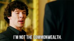 you're OUR common wealth haha ok that was bad ;P