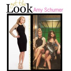 We have to say that Selena Gomez and Amy Schumer make the ultimate fashion DUO! Amy Schumer is looking flawless with one of her favorite gal pals here, don't you think?! That sleek black dress with the beading on the sleeves is simply stunning! Well...lucky for you, now you can get Amy Schumer's look! This long sleeve jersey dress looks identical to Amy Schumer's and would look amazing on you!   #camillelavie