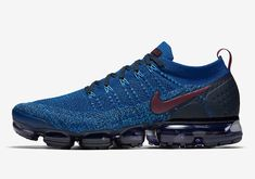 """Nike Vapormax Flyknit """"Gym Blue"""" Is Coming Soon - Lifestyle news website covering streetwear, sneakers Nike Sneakers, Air Max Sneakers, Nike Shoes, Nike Clothes Mens, Nike Vapormax Flyknit, Lifestyle News, News Website, Nike Outfits, Nike Air Max"""