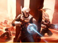 Warhammer 40000,warhammer40000, warhammer40k, warhammer 40k, ваха, сорокотысячник,фэндомы,Tau Empire,Tau, Тау,Fire warrior