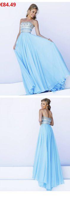 Neckholder Chiffon exklusive Abendkleider Ballkleider online kaufen ...