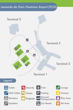 Fiumicino Airport Map Rome Leonardo Da Vinci Express is right at