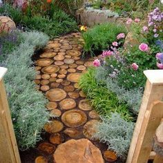 Garden or backyard pathway MUST HAVE