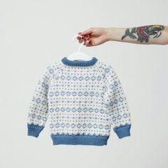 Gutten og strikkemor