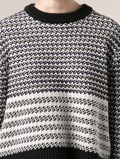 Shop Proenza Schouler striped pullover sweater.