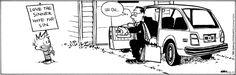 """Love the sinner, Hate the sin."" - Calvin and Hobbes Comic Strip, October 11, 2013 on GoComics.com"