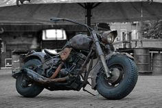 Rat Bike--love the juicy tires on this one!