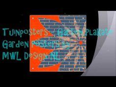 Design Tuinposters - Design Garden Posters - Design Garten plakate ♥ ♥ ♥...