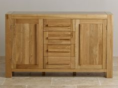 Our sideboards are ideal to create extra space and offer useful storage facility. Built to last, always from solid wood. Large Sideboard, Oak Sideboard, Oak Furniture Land, Solid Oak, Fresco, Storage, Natural, Wood, Home Decor