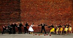 Group Photography Ideas: 20 Creative Wedding Poses for Bridal Party. This is a really cute idea