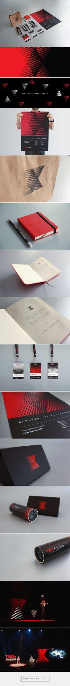 Beautiful TEDx Fortaleza Branding
