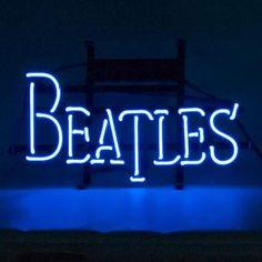 New Beatles Neon Light George Harrison, John Lennon, Beatles Art, The Beatles, Beatles Museum, Ringo Starr, Paul Mccartney, Bates Motel Season 4, Neon Moon