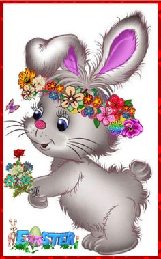 Easter Images Religious, Easter Images Clip Art, Bunny Images, Easter Art, Easter Bunny, Animal Drawings, Cute Drawings, Happy Easter Wallpaper, Cute Bunny Cartoon