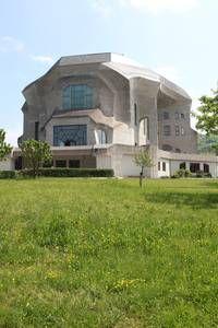 Goetheanum in Dornach Rudolph Steiner Rudolf Steiner, Modernism, Nature Pictures, Regional, Modern Architecture, Art Nouveau, Buildings, Castle, Mansions