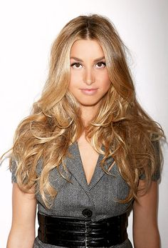 Whitney Port. Super hair envy
