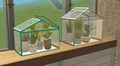 "dysfunctionalphysical: "" 4T2 IKEA SOCKER GreenHouses - MXIMS 2 new meshes. One conversion and the other one is a bigger version. Both found under sculptures. 12 recolours. And I apologize for the many..."