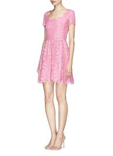 VALENTINO Floral guipure lace dress