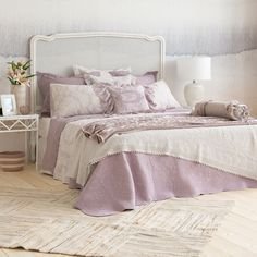 LACE FRILL BEDSPREAD AND CUSHION COVER - Bedspreads - Bedroom | Zara Home United Kingdom