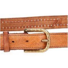 Mittelaltergürtel Ledergürtel Ringgürtel mit durchgehender keltischer Prägung