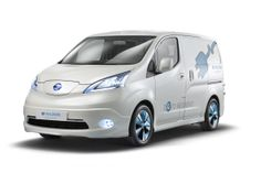 image via Nissan....e-NV200 Electric Van Ready for 2014! YES!!