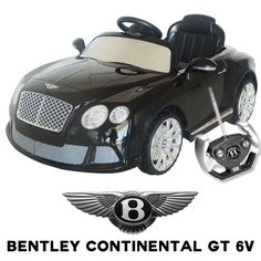 Official Bentley Continental GT 6v Kids Electric Car - £199.95 : Kids Electric Cars, Little Cars for Little People