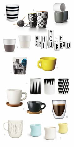 My 12 favortire Mugs Roundup