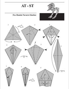 Origamis starwars - 2Tout2Rien Plus