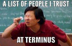 List of people I trust.