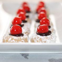 Dark Chocolate Cherry Thumbprints