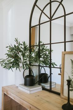 Home Interior Design, Interior And Exterior, Living Room Decor, Living Spaces, Moderne Outfits, Home And Deco, Home Decor Inspiration, Real Plants, Faux Plants