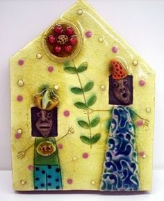 Carolina Creations Fine Art and Contemporary Craft: Lisa Muller Tiles