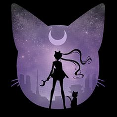 sailor moon y luna Sailor Moons, Sailor Moon Crystal, Sailor Moon Fond, Arte Sailor Moon, Sailor Venus, Sailor Scouts, Art Manga, Anime Art, Catty Noir