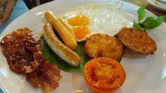 Iudia on the river hotel breakfast
