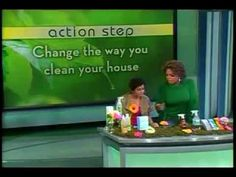 Oprah talks about Shaklee safe cleaners. Do you know anyone who as respiratory issues? If so this episode of Oprah is one they should watch!! Many times it takes some getting sick before the research begins...