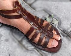 Mens Gladiator Sandals , Womens Gladiator Sandals , Leather Sandals , Handmade Sandals , Huaraches by ForGoodPeople on Etsy https://www.etsy.com/listing/159758130/mens-gladiator-sandals-womens-gladiator