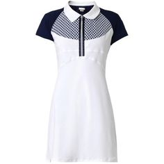 Shop Now: Monreal London Short-sleeved Performance Dress Jogging, Day Dresses, Dresses For Work, Active Wear, Golf, Pretty Outfits, Pretty Clothes, Ladies Dress Design, Fitness Fashion