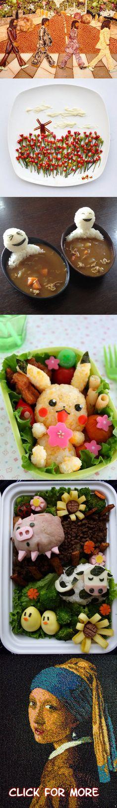 20 amazing food art creations!