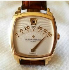 Vintage Watches Collection : 😱😱 Unexpected approach to wristwatches from Vacheron Constantin It's cal. - Watches Topia - Watches: Best Lists, Trends & the Latest Styles Retro Watches, Vintage Watches, Cool Watches, Men's Watches, Latest Watches, Elegant Watches, Beautiful Watches, Cartier, Vacheron Constantin