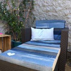 Polster Für Gartenmöbel   Upcycling Von Jeans
