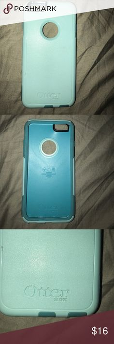 iPhone 6plus Otterbox case Previously used iPhone 6 Plus Otterbox case; still in good condition, not broken OtterBox Accessories Phone Cases
