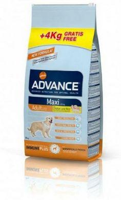Pienso recomendado para #perros adultos menores de 7 años de razas grandes. Con Advance tu mascota estará protegida puesto que le aporta todos los nutrientes que su cuerpo necesita. #pienso #calidad #perros #grandes  www.petclic.es