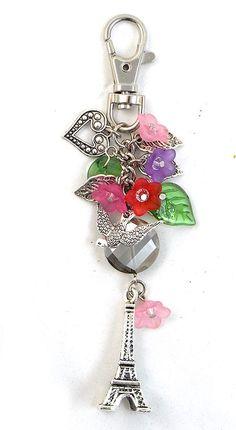 Tutorials | Paris In Spring Bag Charm | Handmade Fashion Jewellery – Devoted to DIY Jewellery