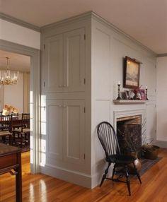 Farmhouse Interior A Colonial Blue Doorway In Raleigh Tavern In Williamsburg Virginia