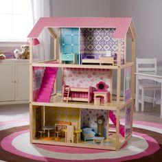 KidKraft Deluxe Play Around Dollhouse - Toy Dollhouses at Hayneedle