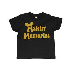 Perfect tee to make memories at Disney in STYLE! Printed on American Apparel 50/50 super soft tshirts with non toxic ink. *please note the size of the image changes from size of the tshirt. *recommend