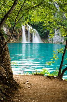 Chorwacja Park Narodowy Jezior Plitvickich Plitvice Lakes National Park Croatia