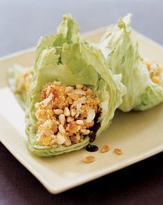 asian lettuce wraps on domino.com